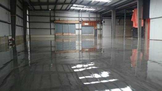 coating vloer epoxyvloer toegepast in garage
