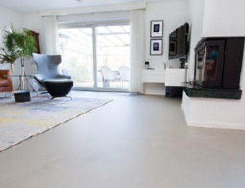 Gietvloer in uw woonkamer