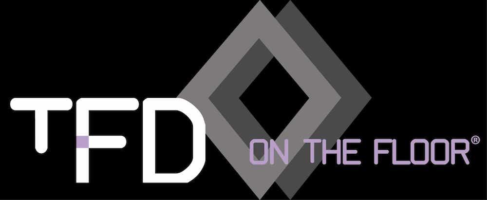 TFD on the floor logo